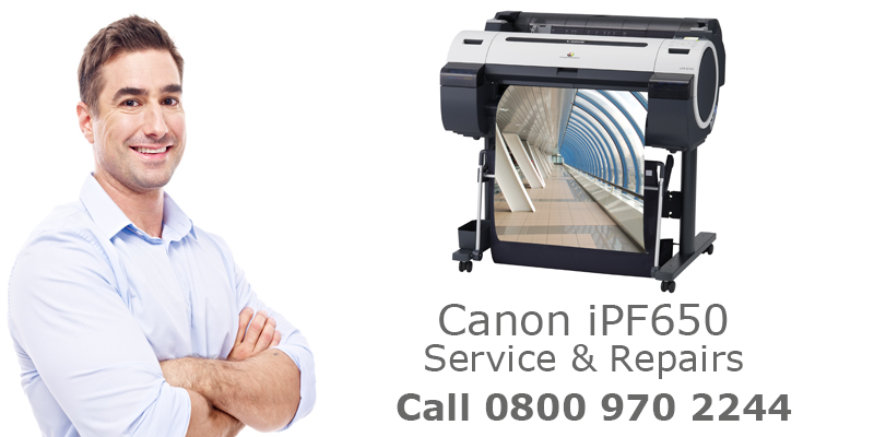 canon ipf650 printer repairs and service