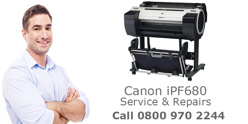 canon ipf680 printer repairs service